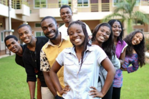 Stock Image of Young People